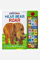 World of Eric Carle, Hear Bear Roar 30 Animal Sound Book - PI Kids (Play-A-Sound) Hardcover