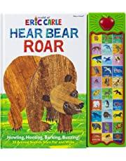 World of Eric Carle, Hear Bear Roar 30 Animal Sound Book - PI Kids (The World of Eric Carle: Play-a-sound)