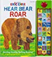 World of Eric Carle, Hear Bear Roar 30 Animal Sound Book – Great Alternative to Toys for Christmas - PI Kids (Play-A-Sound)