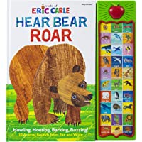 World of Eric Carle, Hear Bear Roar 30 Animal Sound Book - PI Kids (Play-A-Sound)
