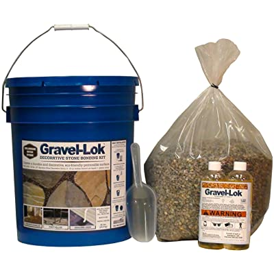 Gravel-Lok DIY Decorative Stone Bonding Kit - River Gravel: Industrial & Scientific