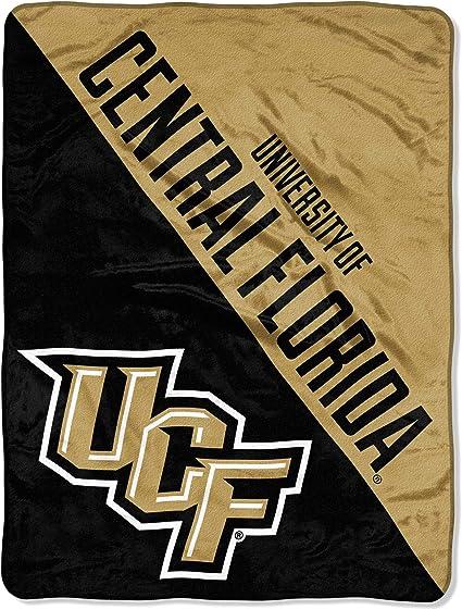 Logo Central Florida Knights NCAA Frosty Fleece 60 X 50 Blanket Team Color,