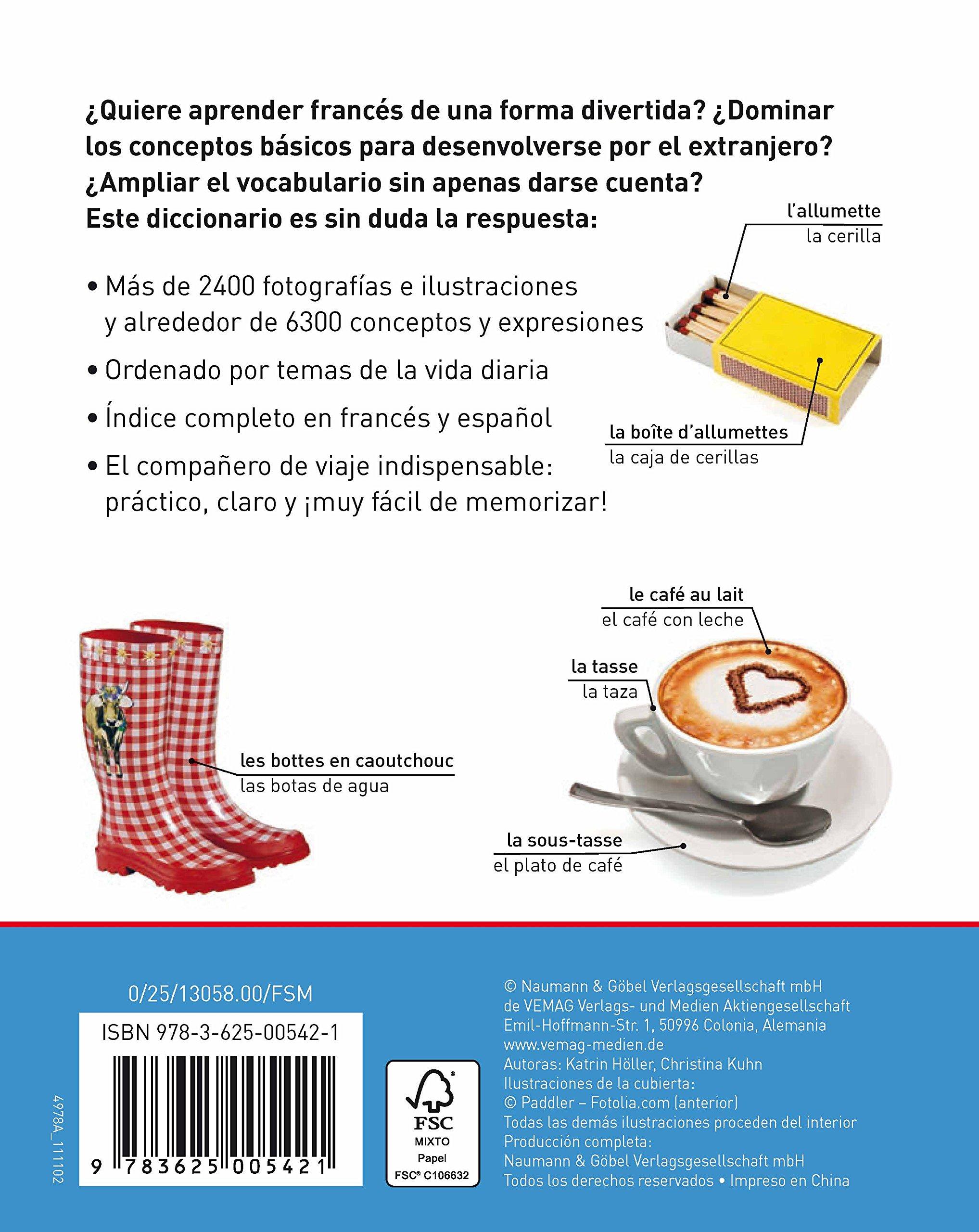 Diccionario Visual Francés-Español: Katrin Hóller: 9783625005421: Amazon.com: Books