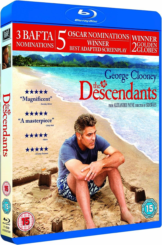 The Descendants Blu Ray Digital Copy Amazon Co Uk George Clooney Shailene Woodley Matthew Lillard Beau Bridges Robert Forster Judy Greer Alexander Payne George Clooney Shailene Woodley Dvd Blu Ray