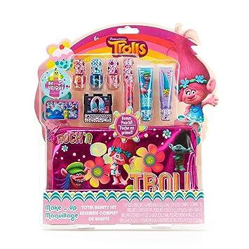 Amazon.com: Townley Girl Dreamworks Trolls Total Beauty Set for ...