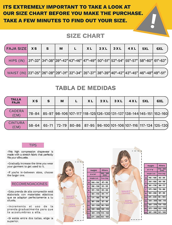 Salome 0216 Fajas Colombianas Reductoras Levanta Cola Postparto Body Shaper