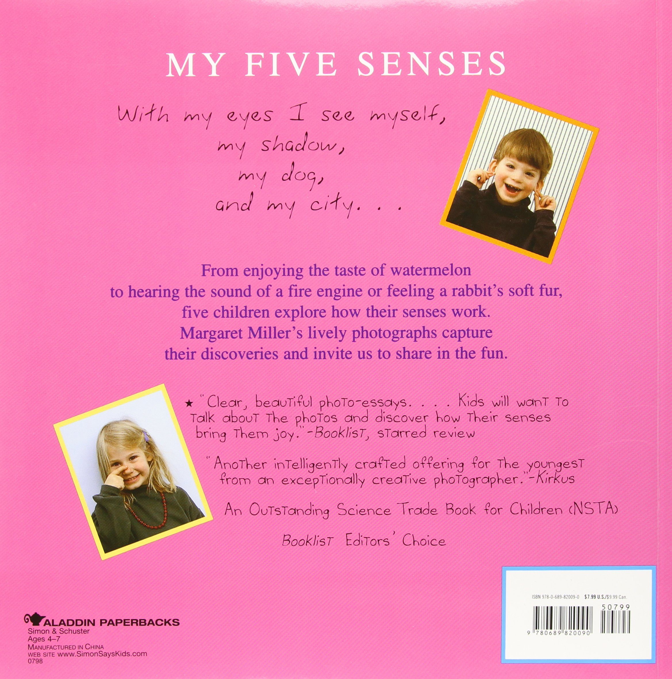five senses essay five paragraph essay sample five  com my five senses aladdin picture books com my five senses aladdin picture books 9780689820090 margaret