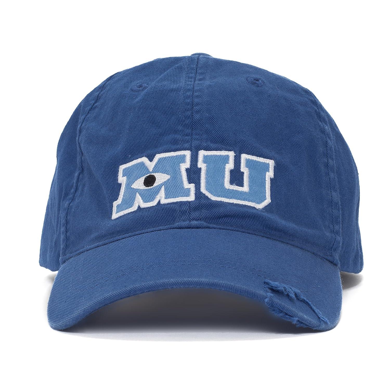 Disney Park M U Monsters University Adult Size Baseball Hat Cap NEW 400007403727