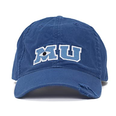 disney baseball caps for adults personalized hats vintage park monsters university adult size hat cap new
