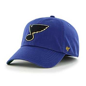 new product c70b4 c132e NHL St. Louis Blues  47 Brand Franchise Fitted Hat, Royal, Small