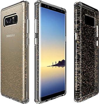 PIXFAB - Carcasa rígida para Samsung Galaxy Note 8 SM N950, Dorado ...
