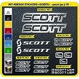 Autocollants vélo SCOTT Kit de stickers autocollants 18 pièces-SCEGLI subi COLORE-bike cycle pegatina Cod.0112