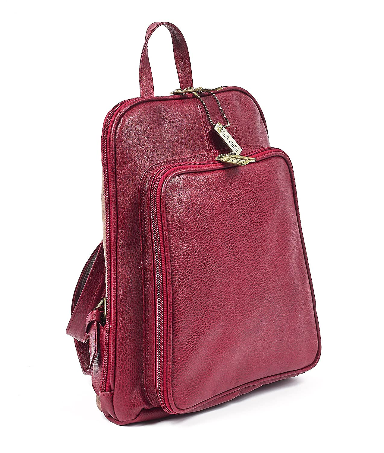 Claire Chase Tablet Backpack One Size Red