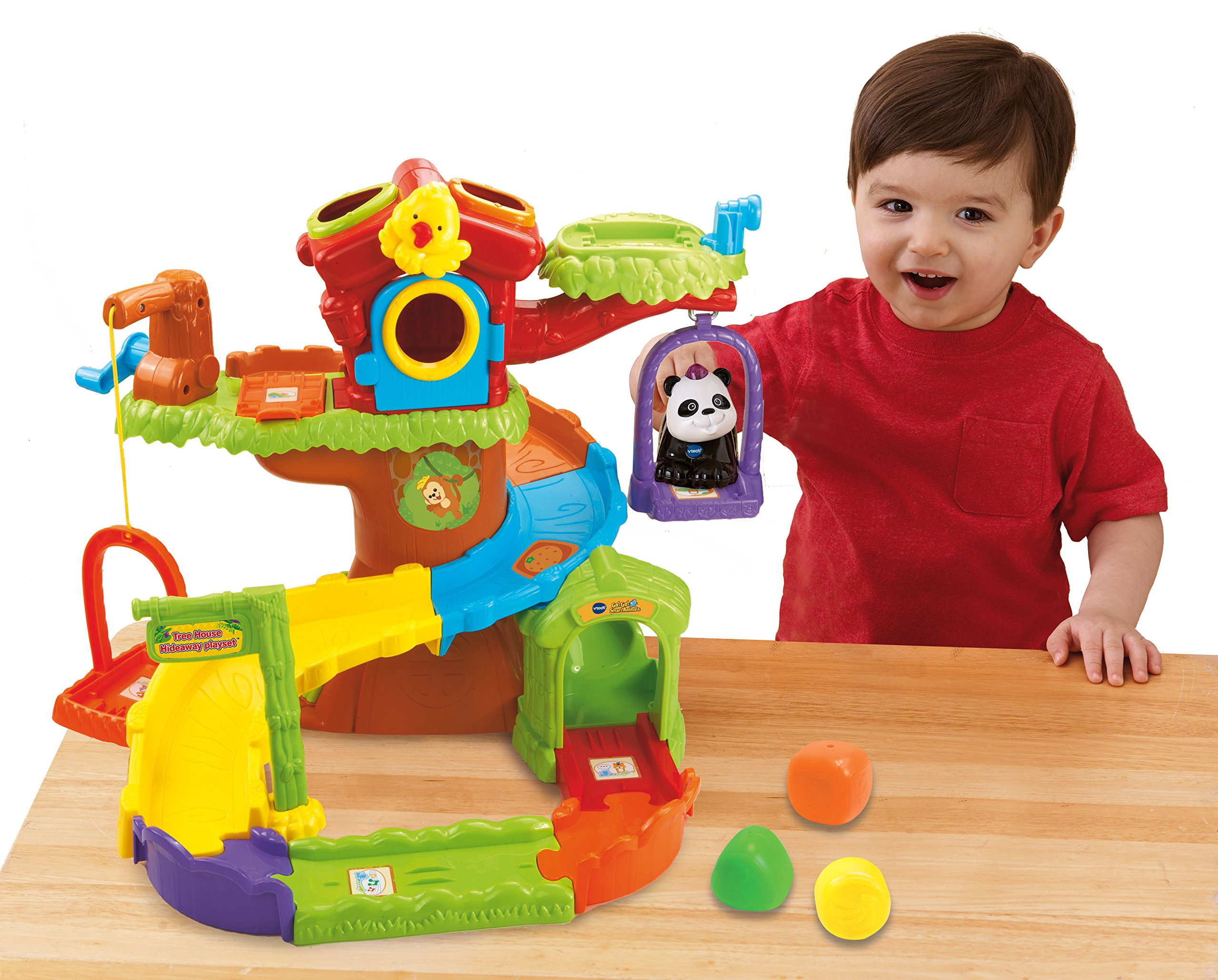 VTech Go! Go! Smart Animals Tree House Hideaway Playset by VTech Go! Go! Smart Animals (Image #2)