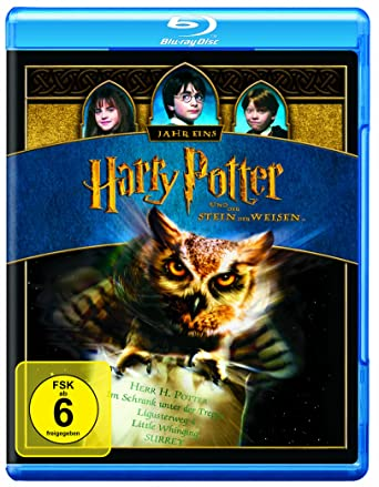 Harry Potter und der Stein der Weisen Alemania Blu-ray: Amazon.es ...