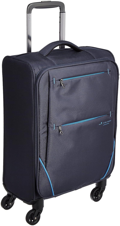 [ヒデオワカマツ] スーツケース フライII 超軽量ソフトキャリー 容量26L 縦サイズ55cm 重量1.9kg 85-76001 B01KWPTAZ8 ネイビー ネイビー