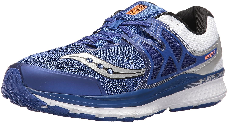 Saucony Men's Hurricane Iso 3 Men's Footwear Synthetic 43 EU|Blue
