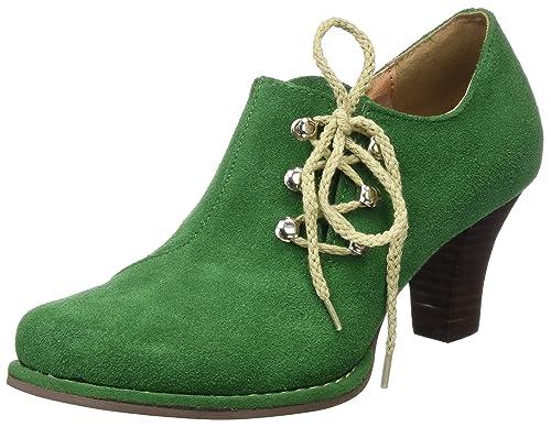 3595308, Zapatos de Tacón con Punta Cerrada para Mujer, Verde (Tanne), 42 EU Andrea Conti