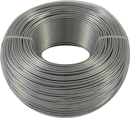 2mm Aluminiumdraht Aludraht Basteldraht 118m Eloxiert