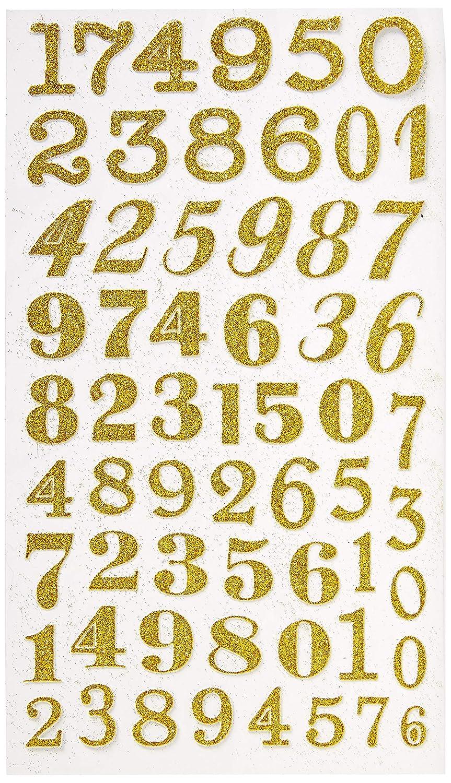 1-1//2 Homeford FVA000000GS106GD Sticker Gold 1-1//2