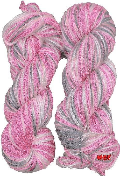 Art of knitting 10 x 25 gram balls of Pink double knit yarn//wool crochet  etc