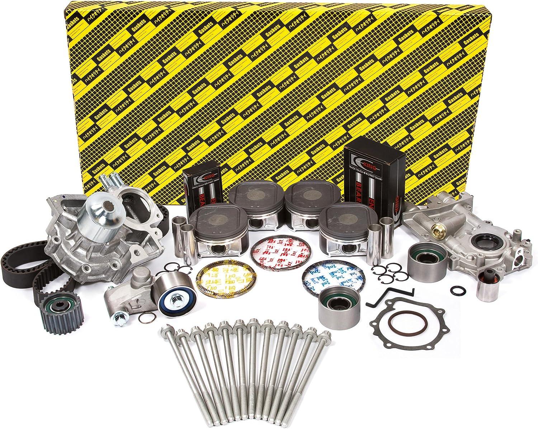 Gates Timing Belt Water Pump Kit for 2001-2015 Volvo S60 2.3L 2.5L 2.4L L5 me