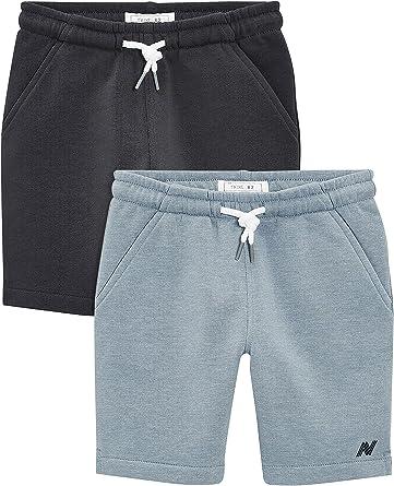 next Niños Pack De Dos Pantalones Cortos (3-16 Años) Pale Blue/Navy 16 años: Amazon.es: Ropa y accesorios