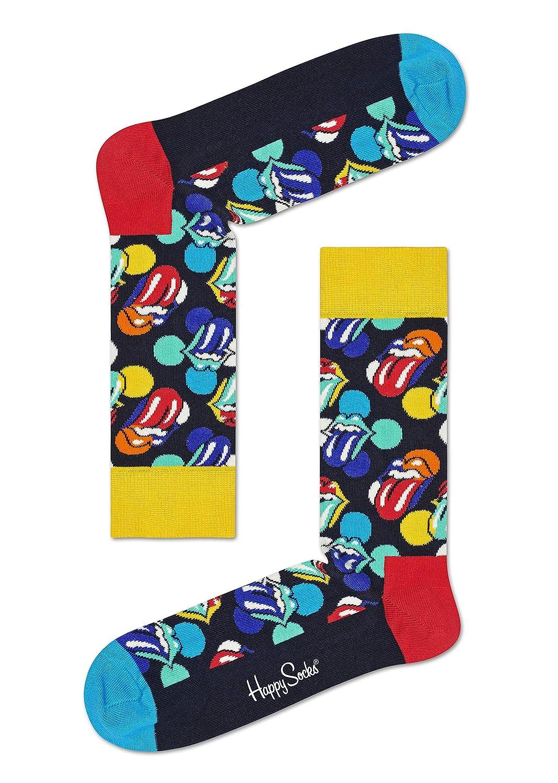 6 pairs Happy Socks Rolling Stones Gift Box US 9-11 EUR 36-40