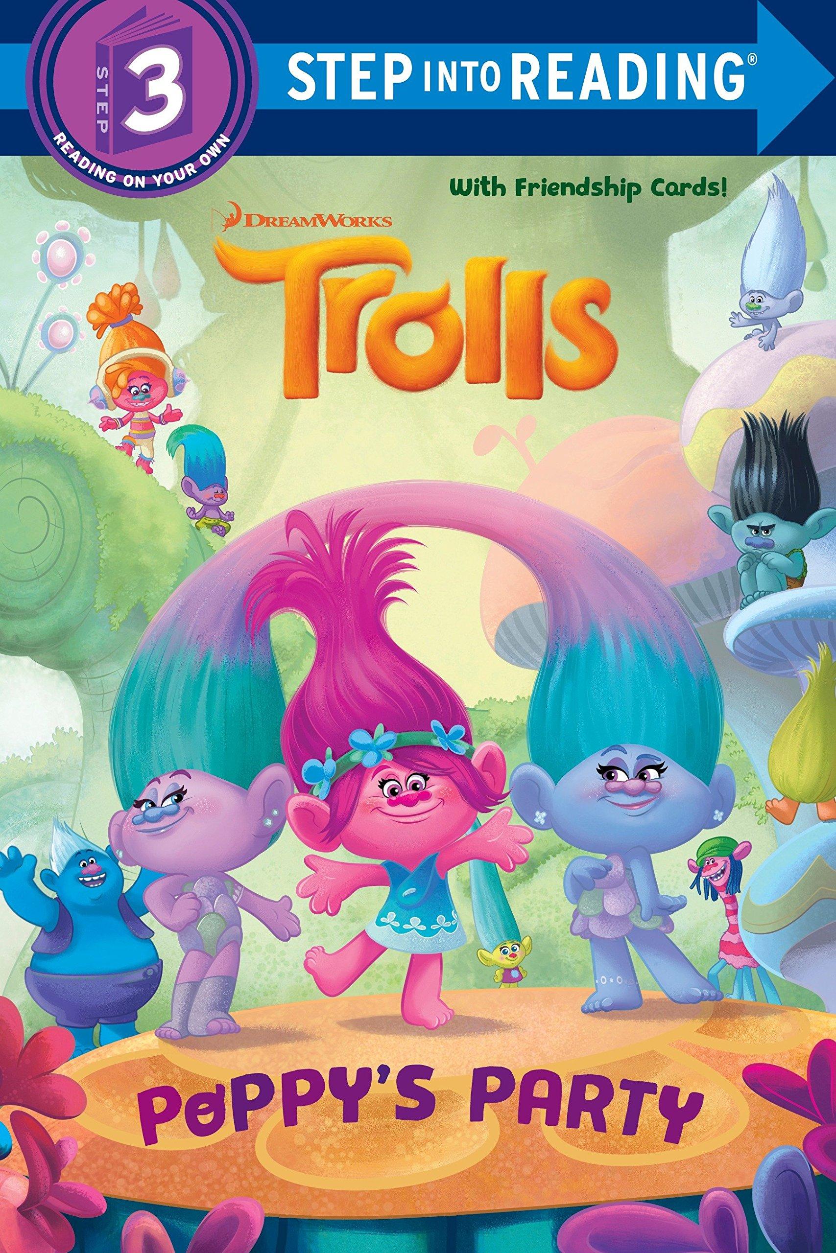 Read Online Poppy's Party (DreamWorks Trolls) (Step into Reading) pdf