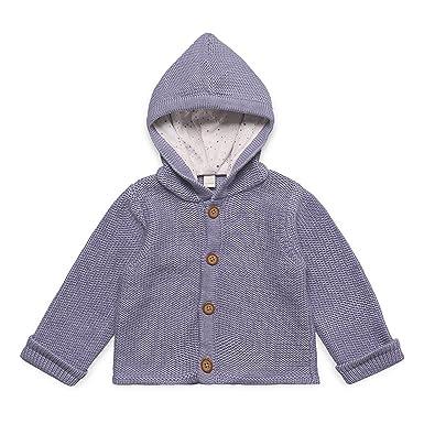 98eb98bd51 Esprit Unisex Baby Jacke RK18030, Einfarbig, Gr. 68, Blau (Pearl Grey