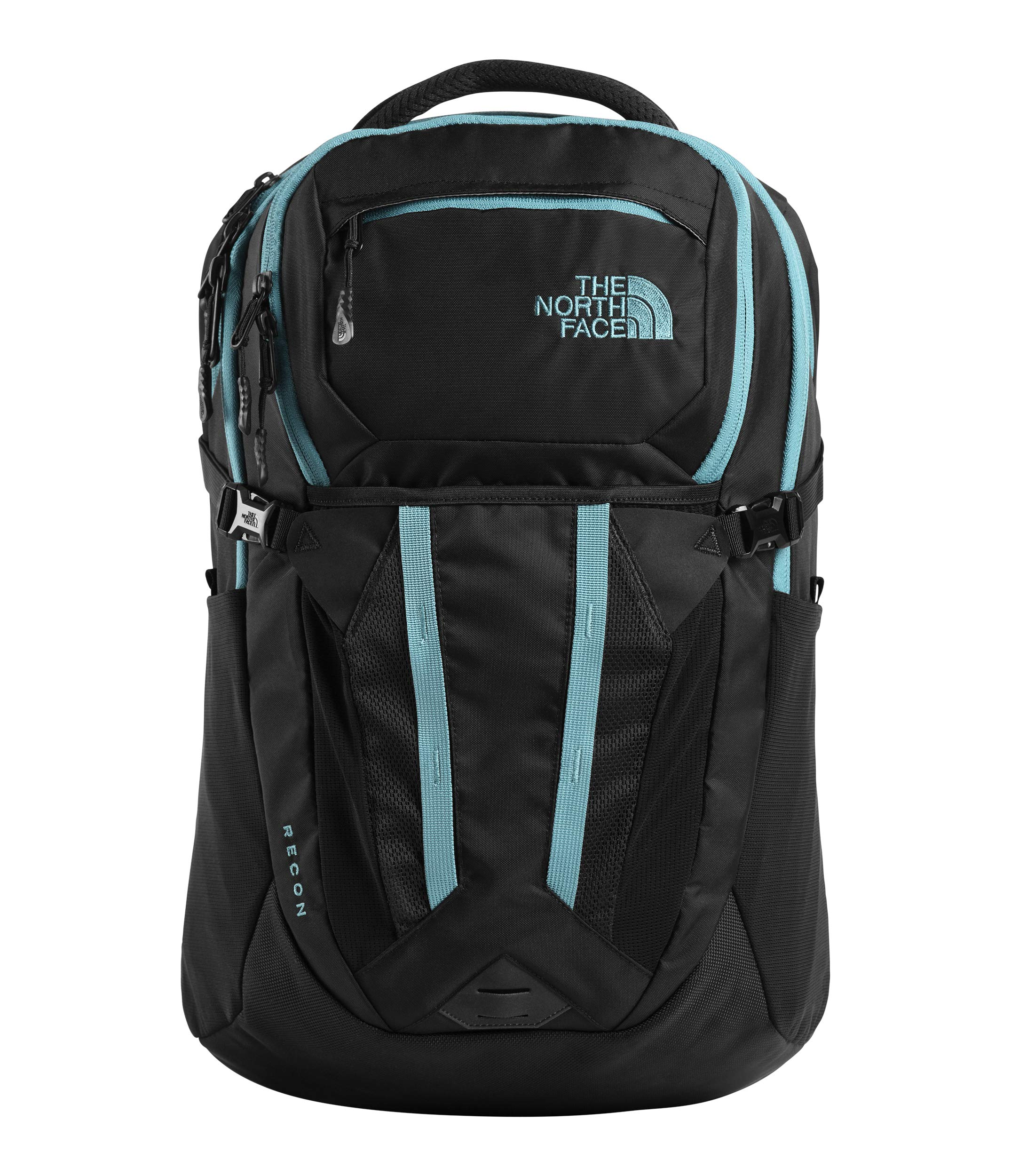 The North Face Recon Backpack, TNF Black/Storm Blue by The North Face