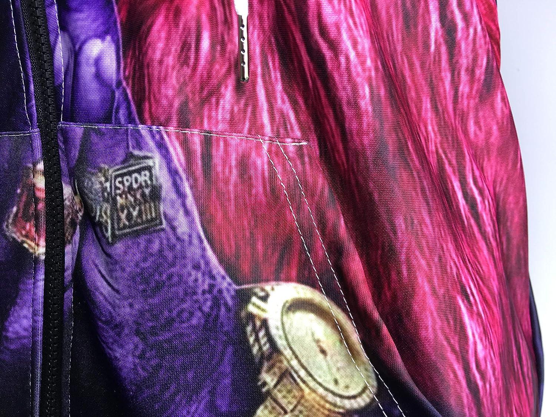 YX GIRL 3D Hoodies Unisex 3D Printed Spiderman Venom Villain Skull Hoodie Funny Hoodies