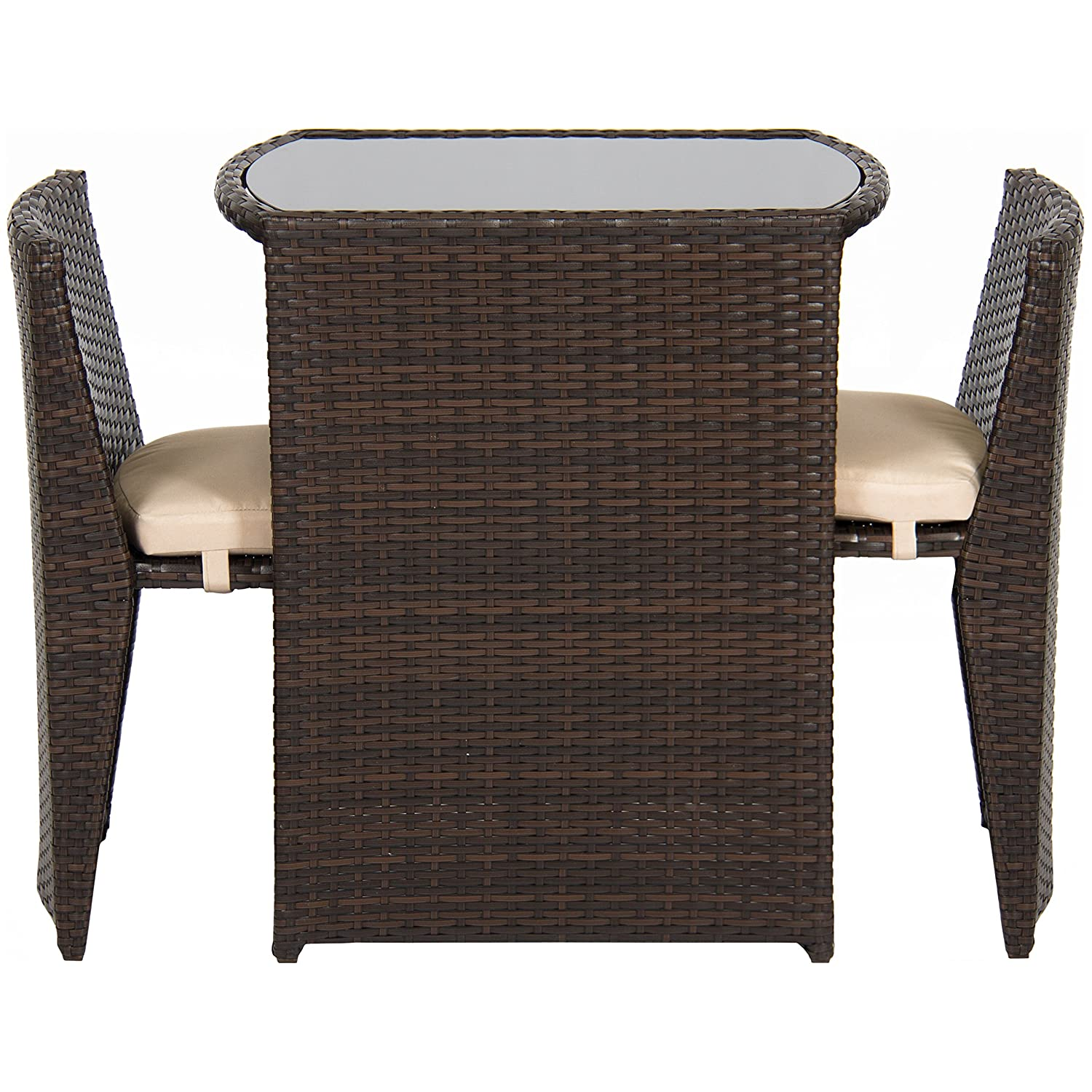 Amazoncom Best Choice Products Outdoor Patio Furniture Wicker - Outdoor patio furniture wicker