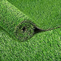 Primeturf 0.95 x 10m Artificial Synthetic Grass Truf, Outdoor Garden Lawn Backyard Patio Grass Rug, 20mm Thickness DIY…