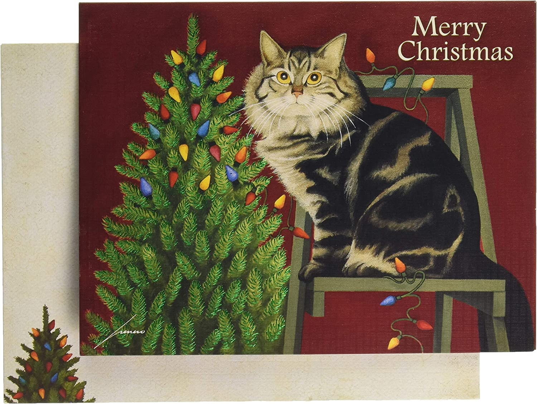 1004847 LANG Evening Rehearsal Boxed Christmas Card