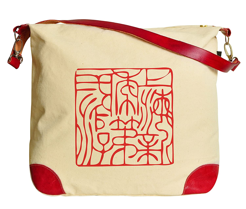 Vietsbay Chinese Ancient Culture Printed Canvas Tote Shoulder Bag HandBag WAS_33