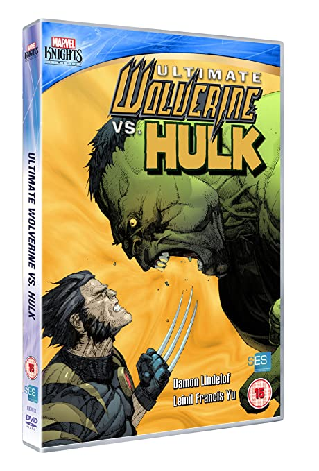 Ultimate Wolverine Vs Hulk [DVD] [Reino Unido]: Amazon.es ...