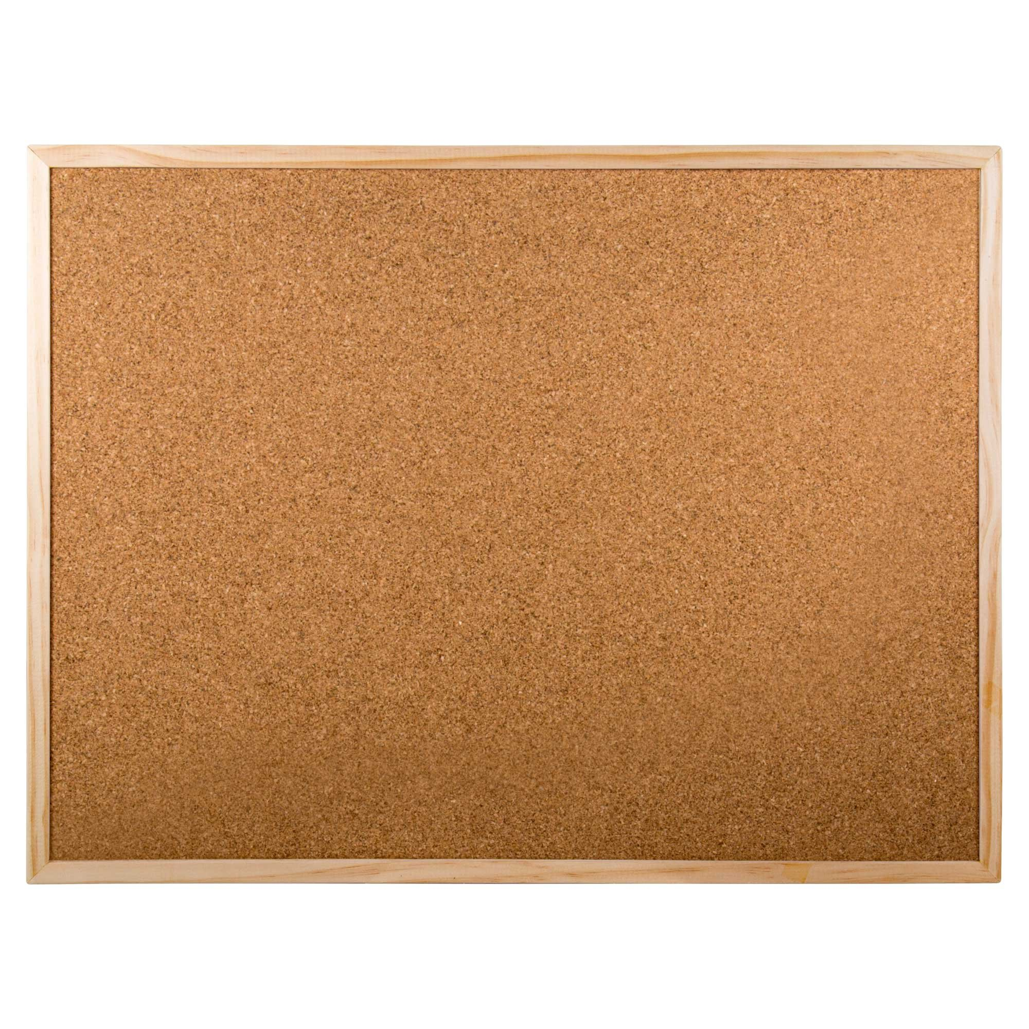Office Works, Cork Board, 17 x 23 inches, Beige