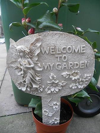 Garden Sign [welcome To My Garden]