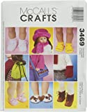 McCall's Patterns M3469 18-Inch Doll Accessories, One Size Only