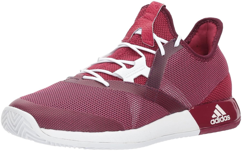 adidas Women's Adizero Defiant Bounce W Tennis Shoe B01N6GKCDC 6 B(M) US|Mystery Ruby/White/Red Night