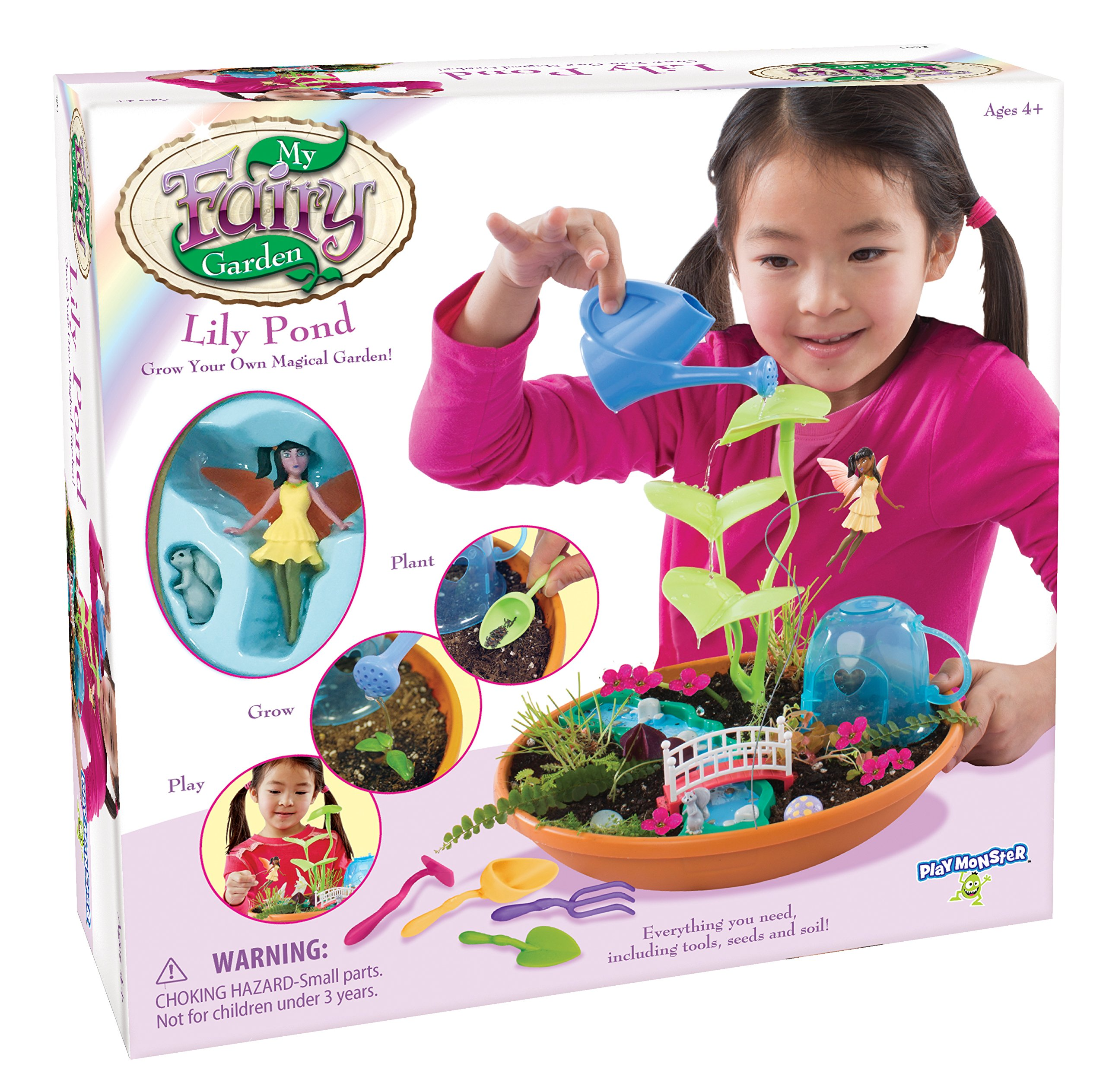 PlayMonster My Fairy Garden - Lily Pond