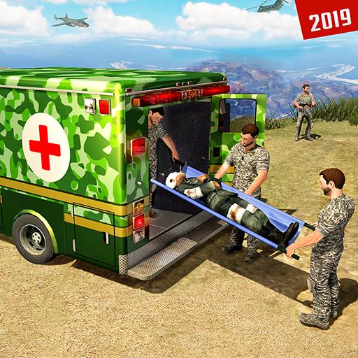 Ambulance Van - US Army Ambulance Car Driving Simulator
