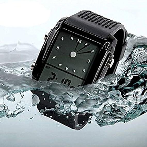 pappi Boss Smart Digital negro Dial Multifunción deportivo de hombre y boy s watch-