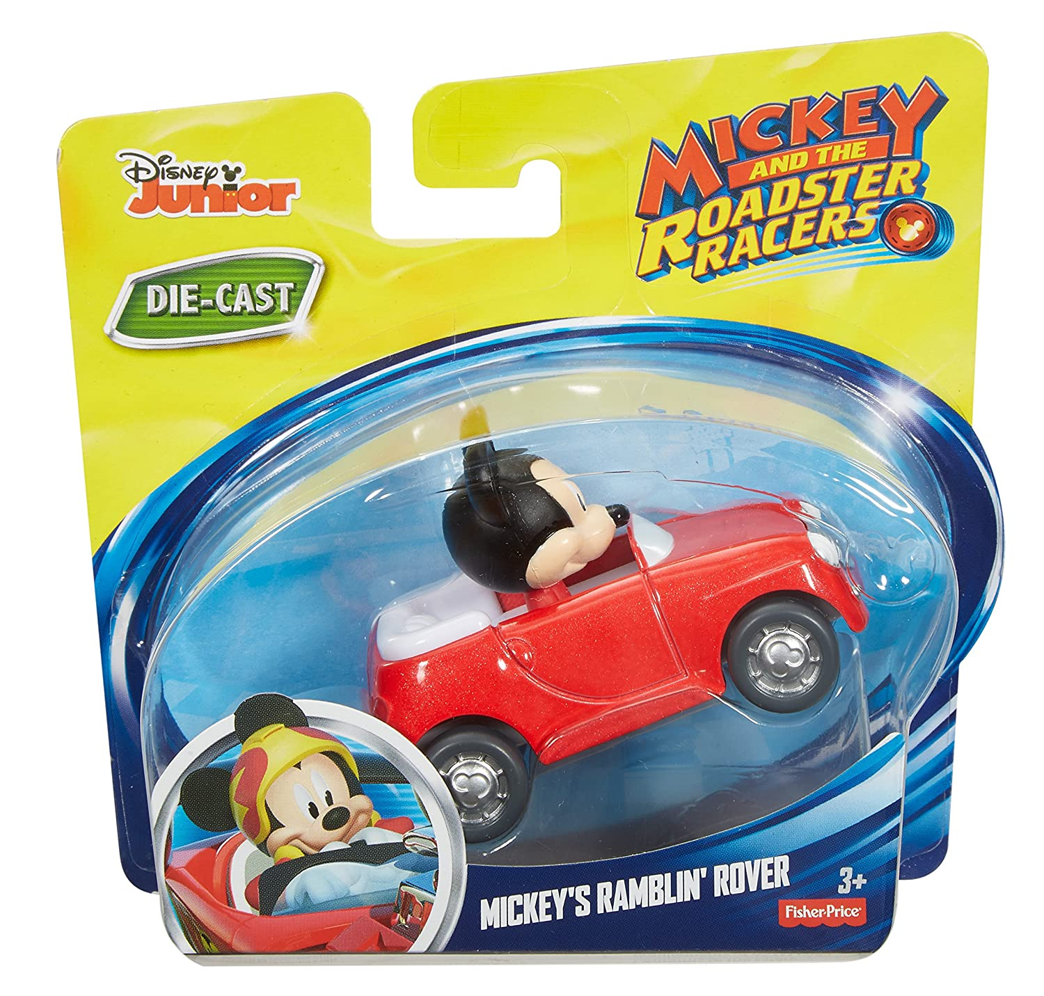 Amazon.com: Fisher-Price Disney Mickey & the Roadster Racers ...