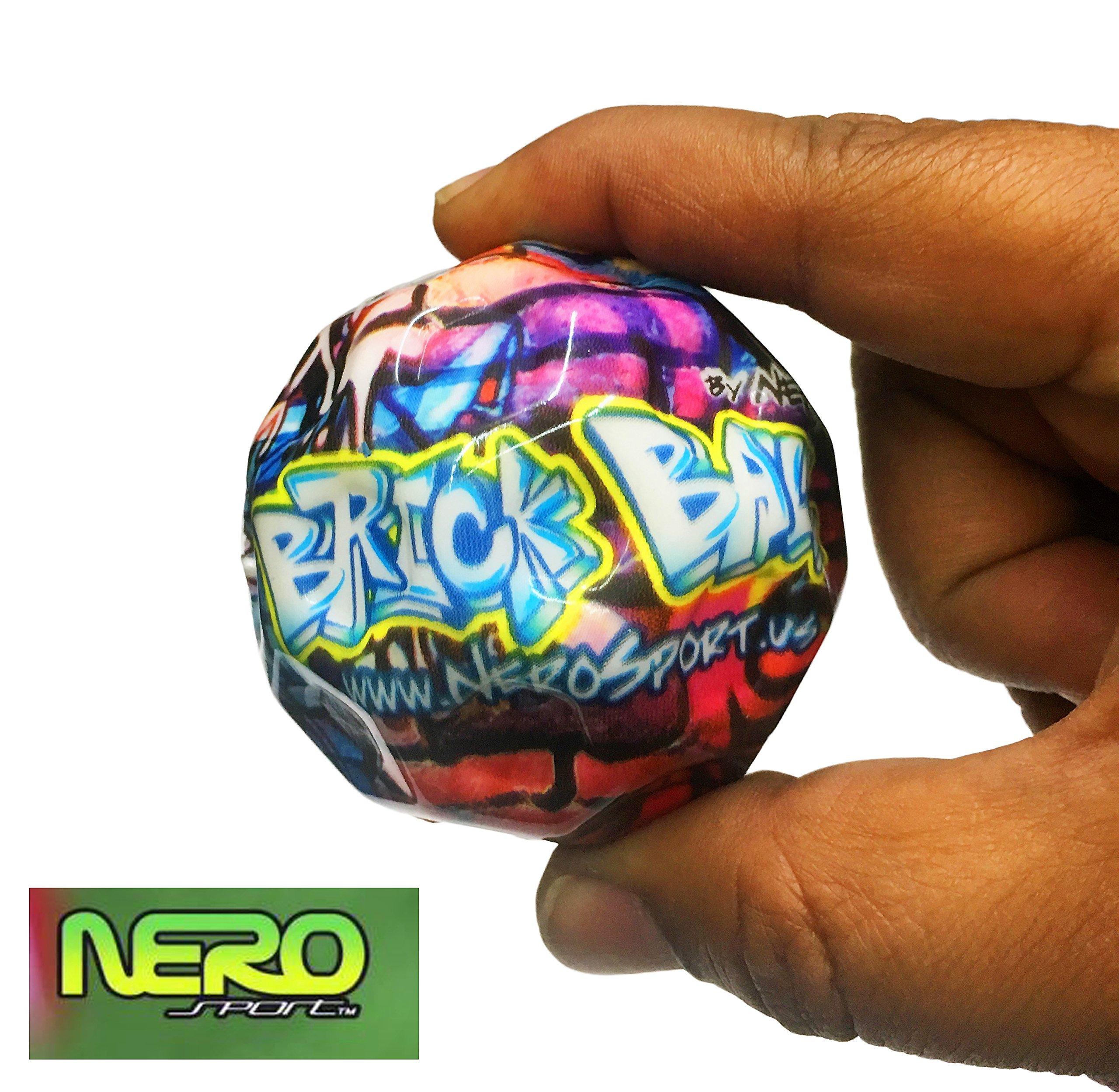 Nero SPORT Brick Ball High Bounce & Agility Ball Parkour Edition (single)