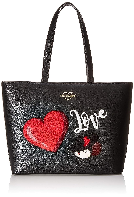 W x H x L Love Moschino Borsa PU 30x12x43 centimeters Bolso Tipo Tote para Mujer