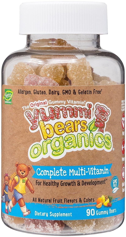 Haribo gummy bears are just one of many products that thomas - Amazon Com Yummi Bears Organics Gummy Vitamins Multi Vitamin For Kids 90 Gummy Bears Health Personal Care