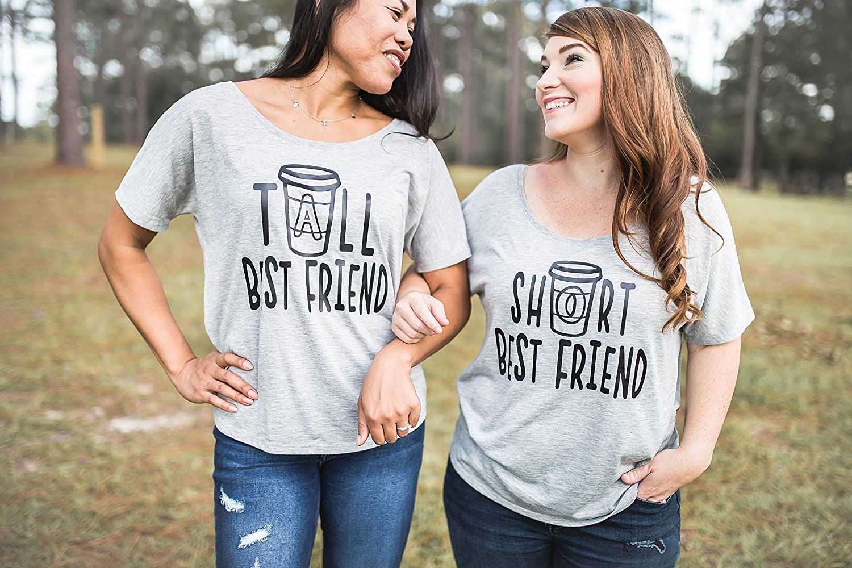 6044bd4ed Best Friend Shirts - Best Friend Gift - Best Friends - Meilleur Ami Tshirt  - Coffee Shirt - Tall Best Friend ...