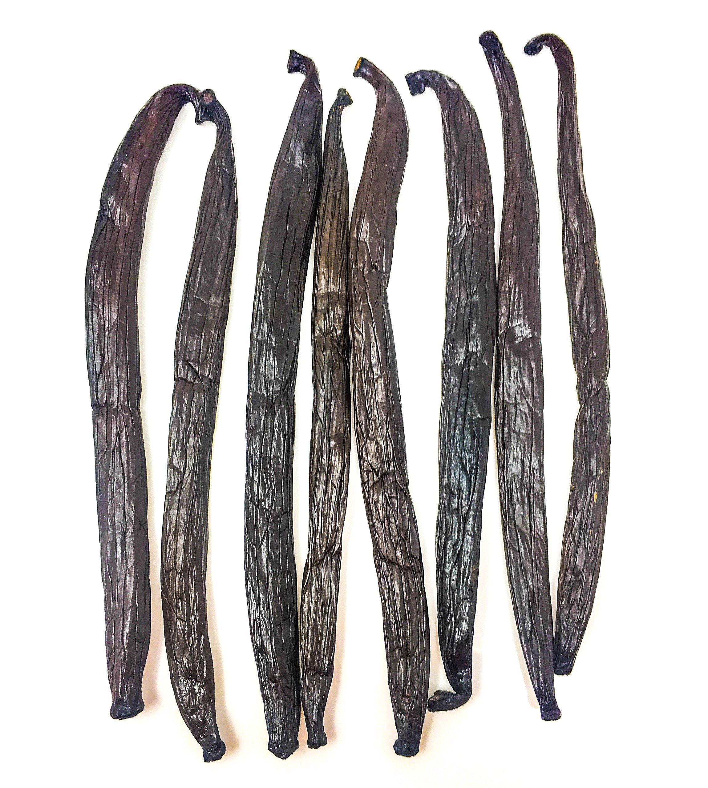 Tahitian Vanilla Beans by Slofoodgroup, Grade A Tahitian Vanilla Beans (Vanilla Tahitensis), Gourmet Tahitian Vanilla Beans Grown in Tahiti (.25 lb Tahitian Vanilla beans)